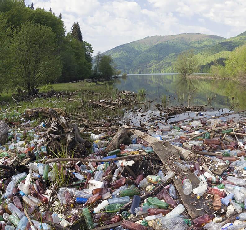 海洋プラスチック問題の画像